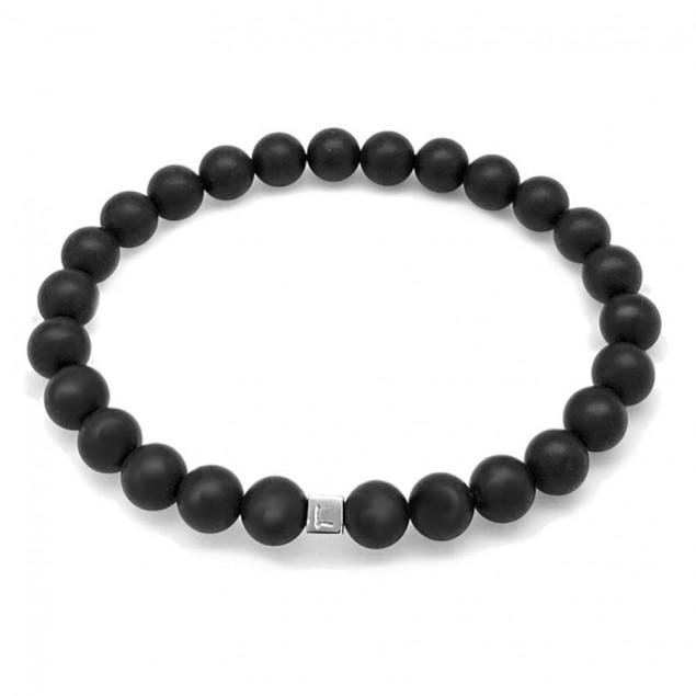 Bracelet perles pour homme - 1 à 4 cubes à personnaliser