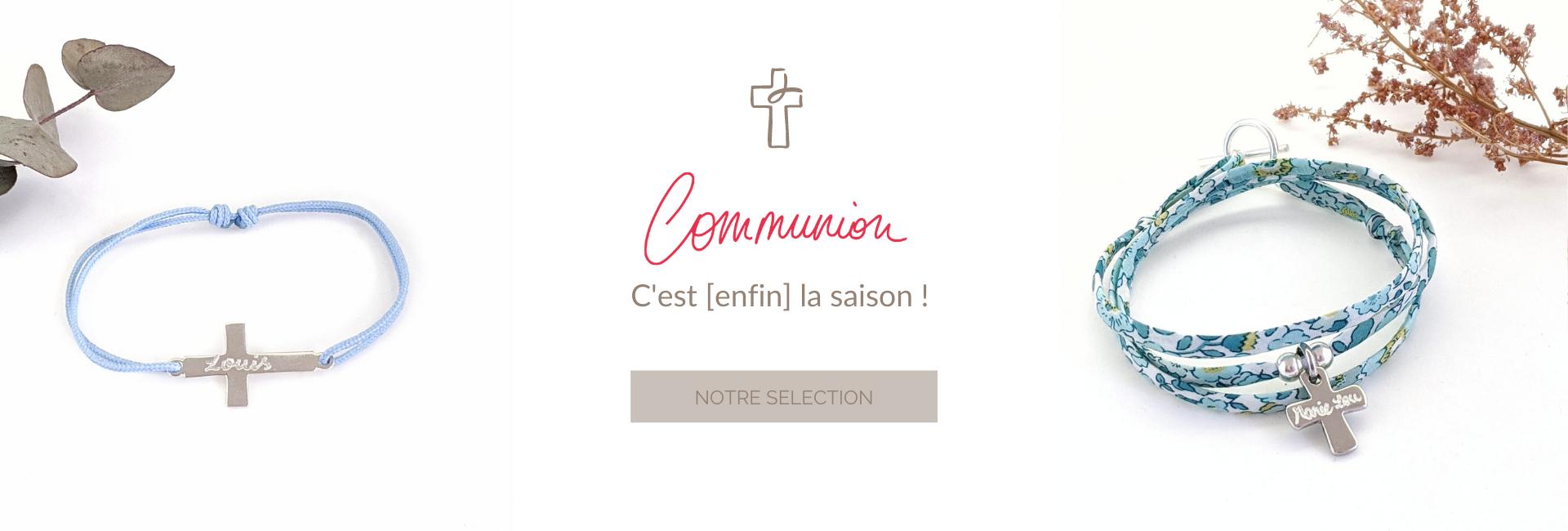 Découvrez nos bijoux religieux de 1ère communion & confirmation